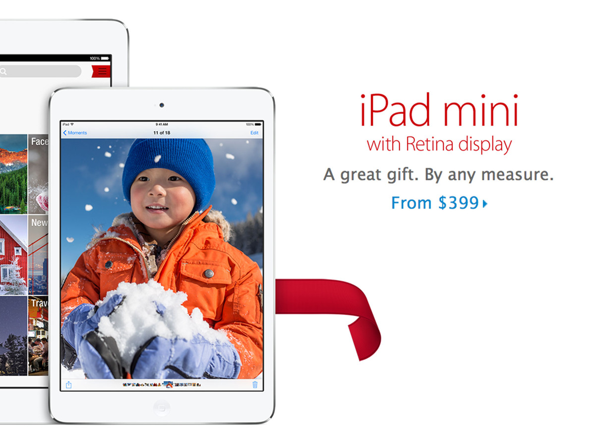 Retina iPad mini now available for order via Apple Online