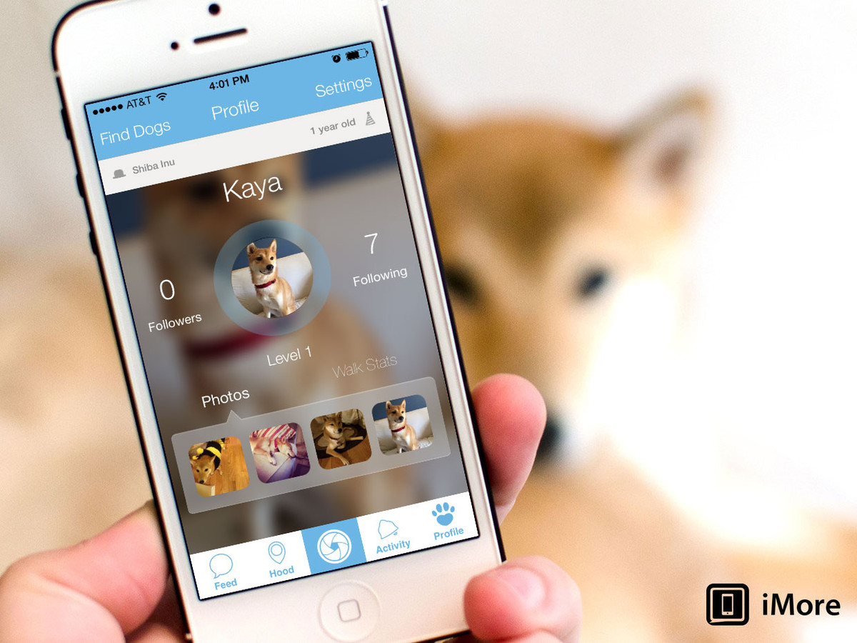 Woof for iPhone is like Facebook, for your dog!