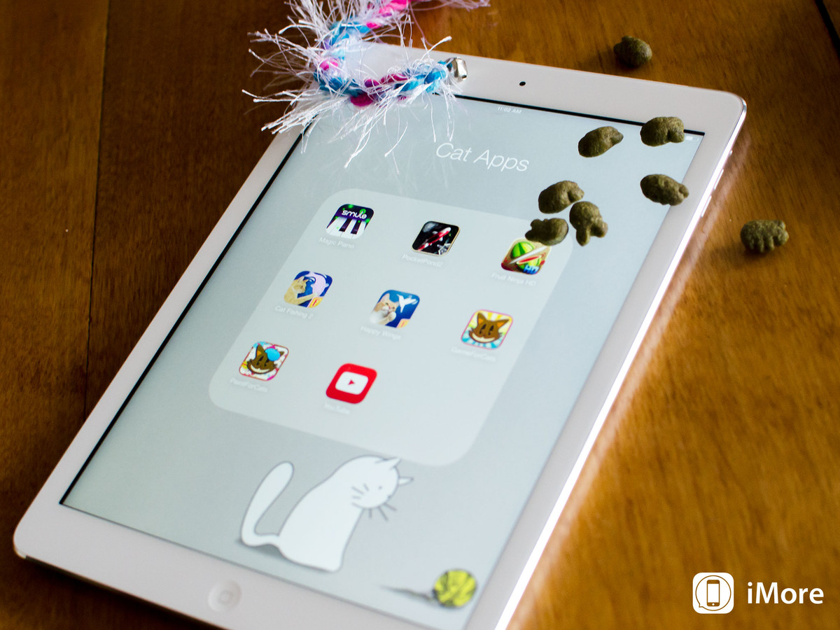 Best iPad apps for cats: Pocket Pond 2, Magic Piano, Paint for Cats, and more!