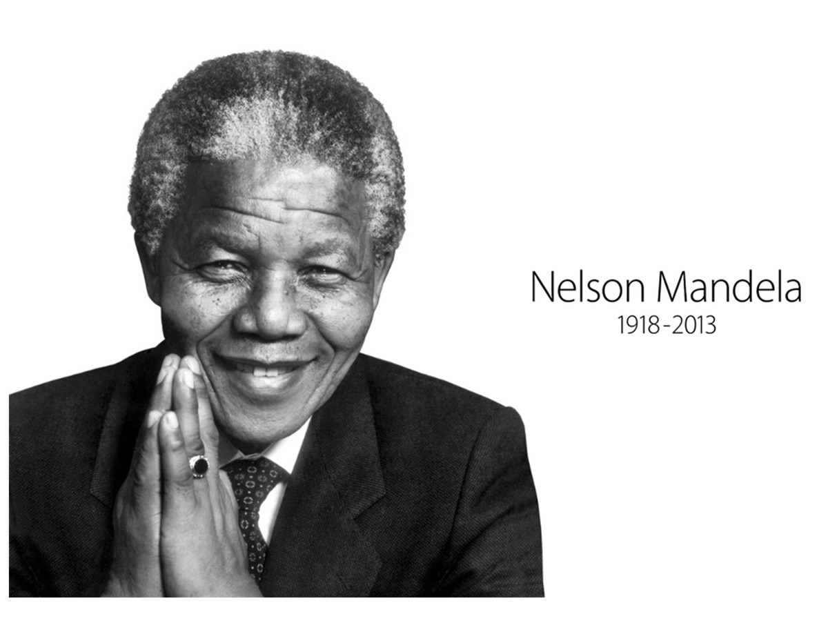 Apple pays tribute to Nelson Mandela