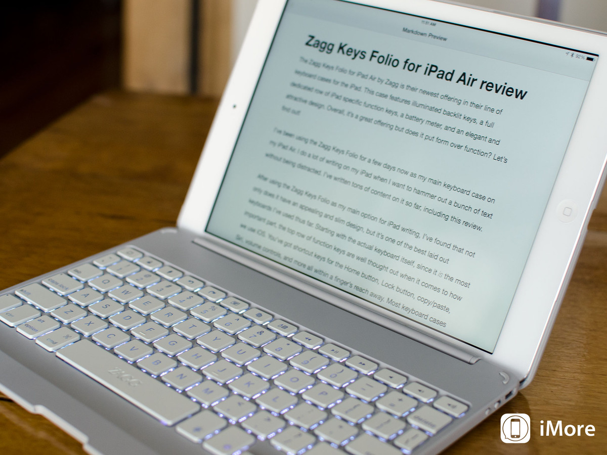 Zagg Keys Folio for iPad Air review