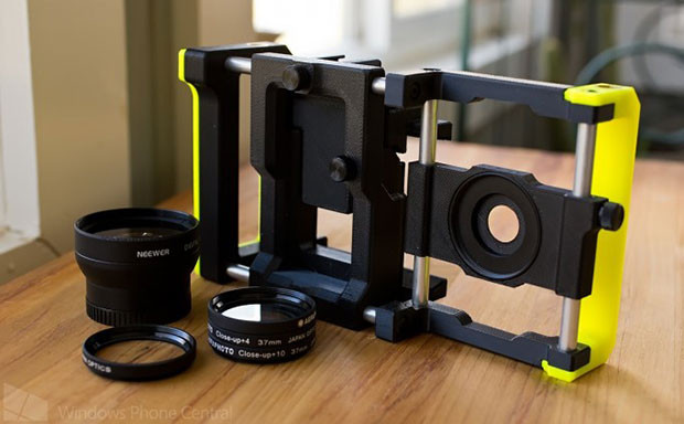 Beastgrip camera system gets reviewed, anyone want to strap it to their iPhone?