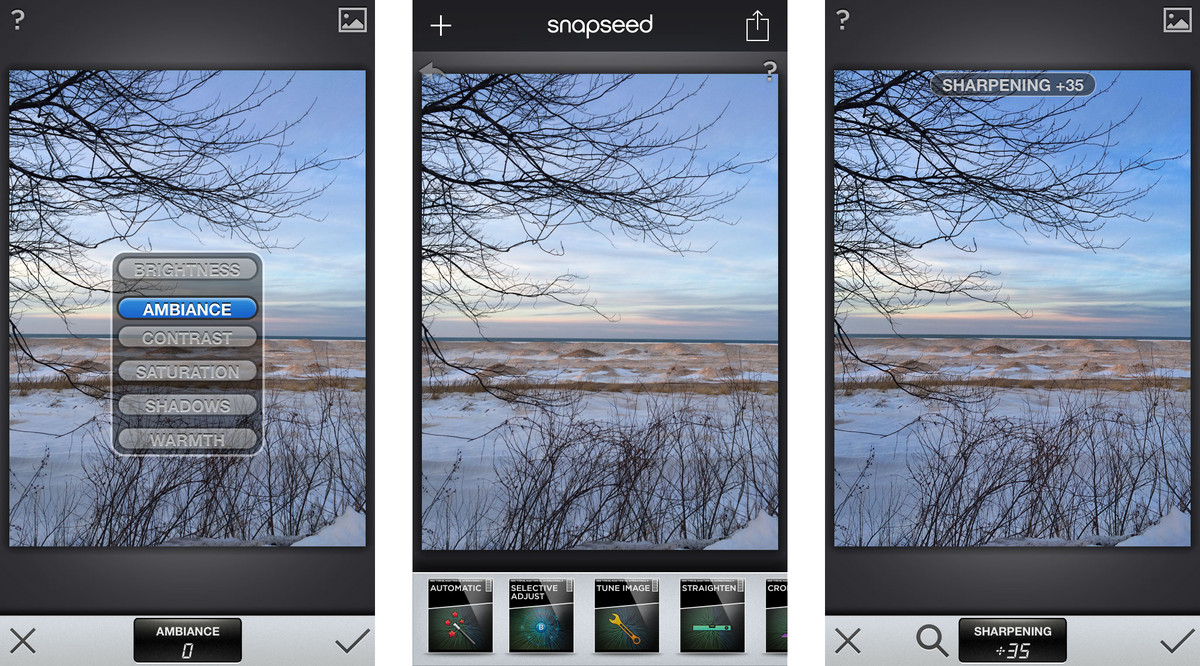 Make your iPhone better than a DSLR with these six apps: Snapseed