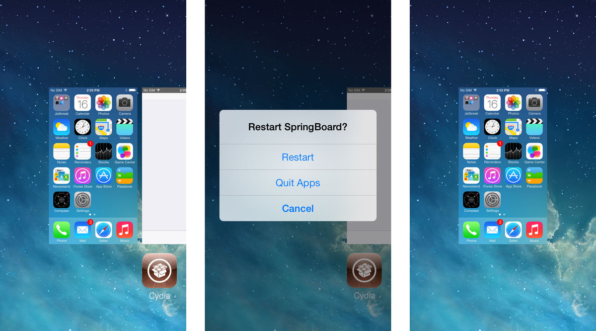 Best jailbreak apps and tweaks for iOS 7: SwitchSpring