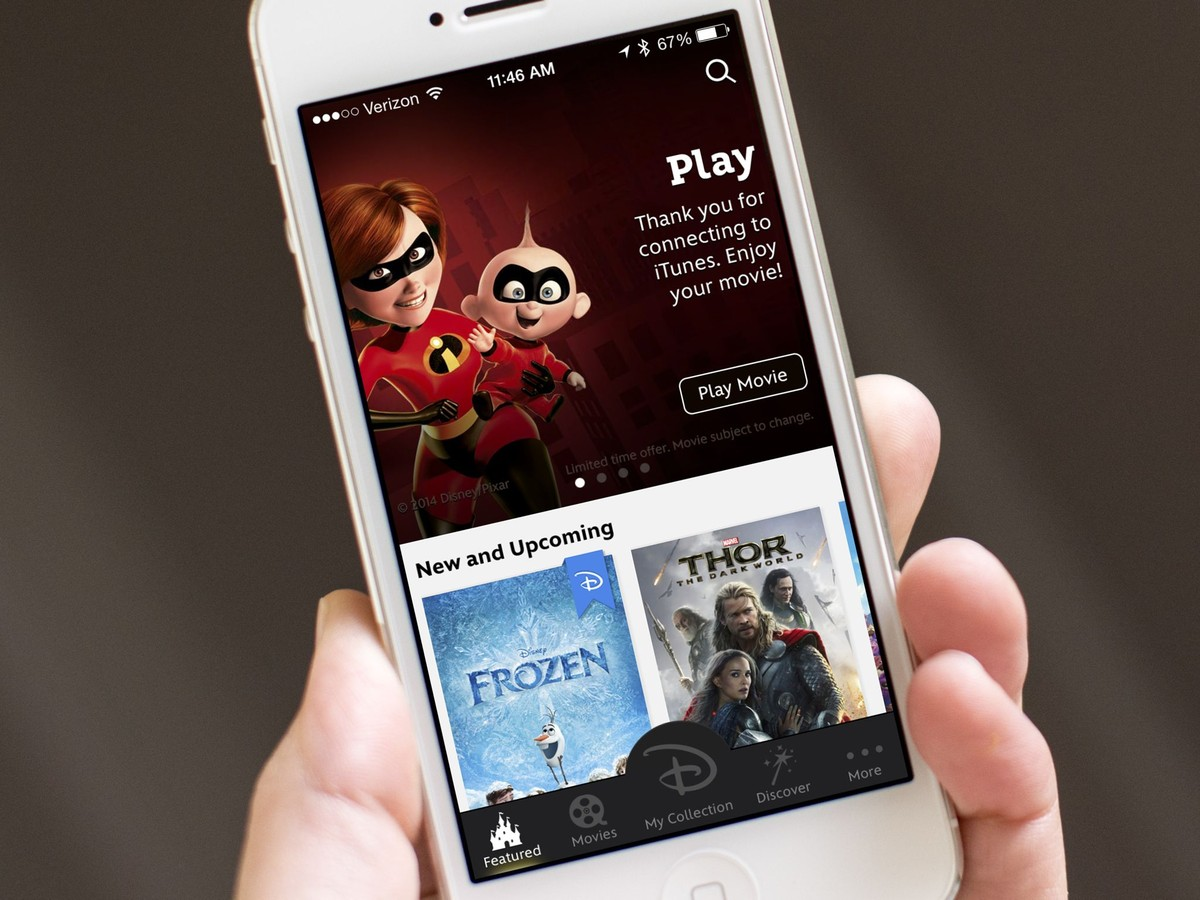 Disney Movies Anywhere lets you watch all of your Disney movies on your iOS device