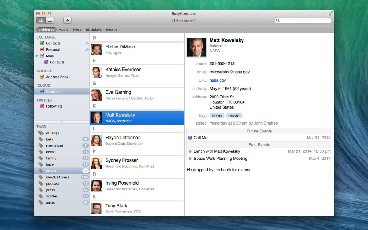 BusyMac announces BusyContacts, launching public beta this summer