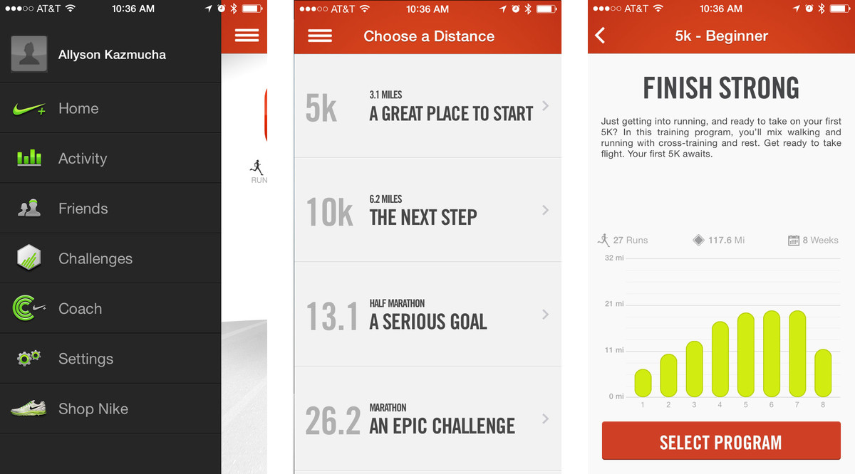 Best run tracking apps for iPhone: Nike+ Running