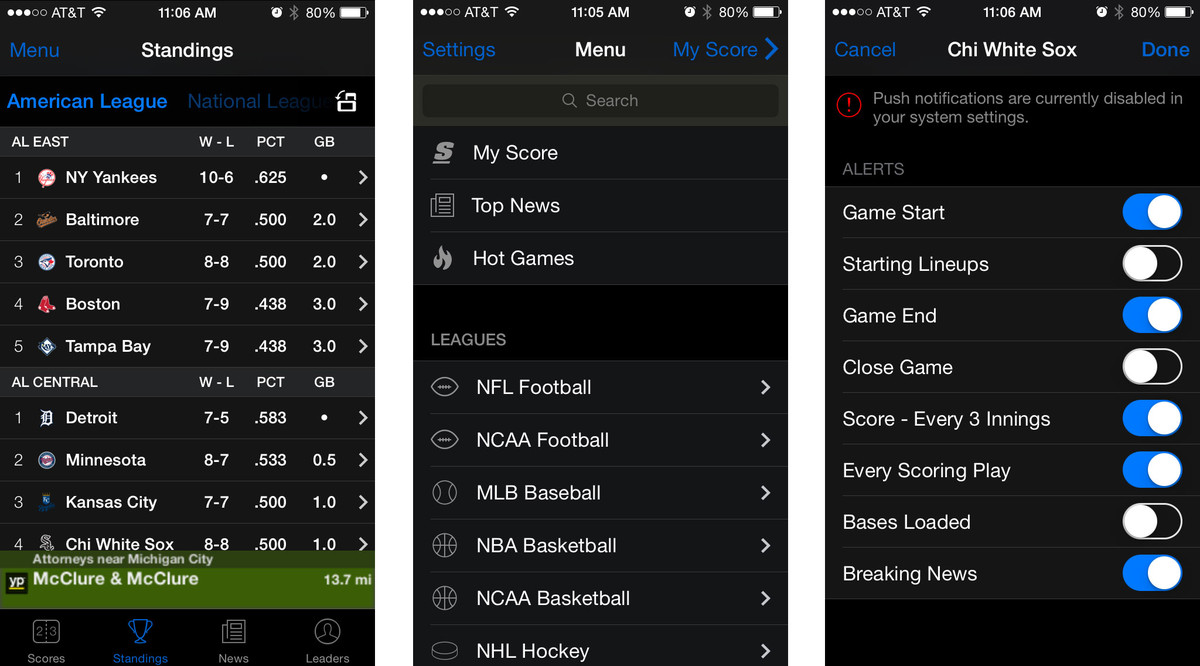 Best iPhone apps to follow the 2014 baseball season: theScore