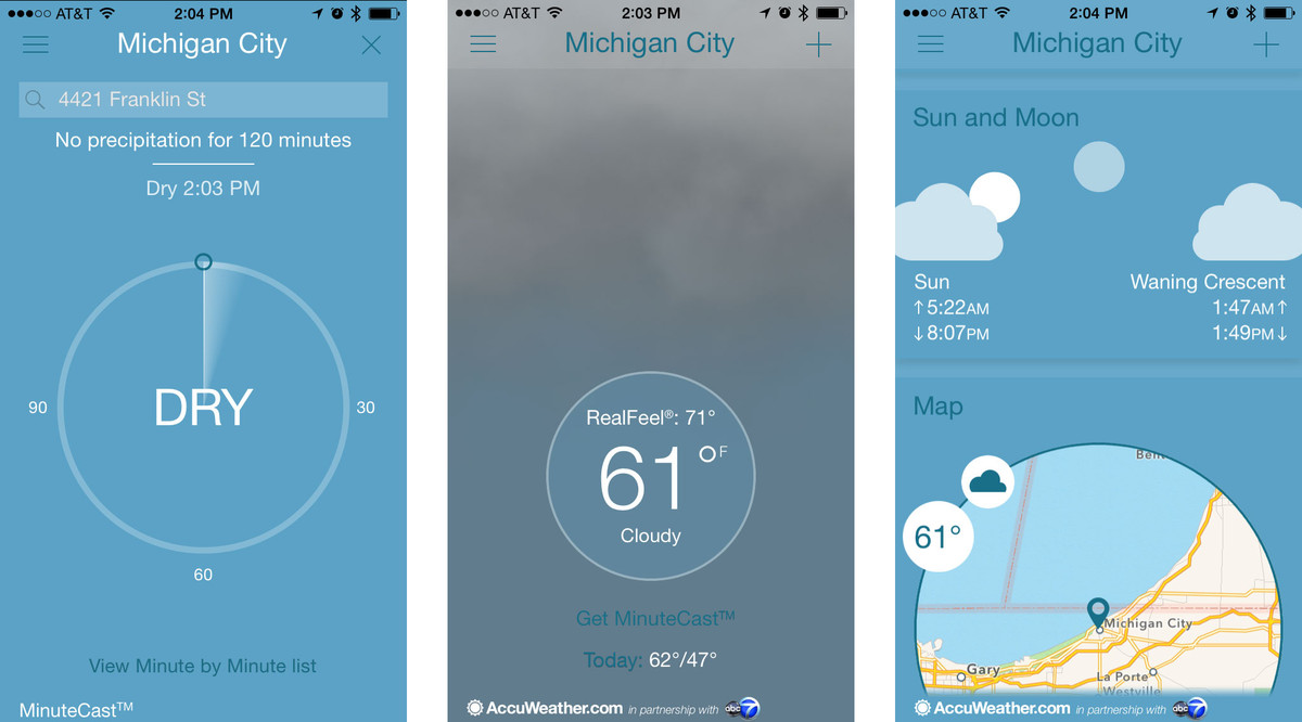 Best Memorial Day apps for iPhone and iPad: Accuweather Platinum