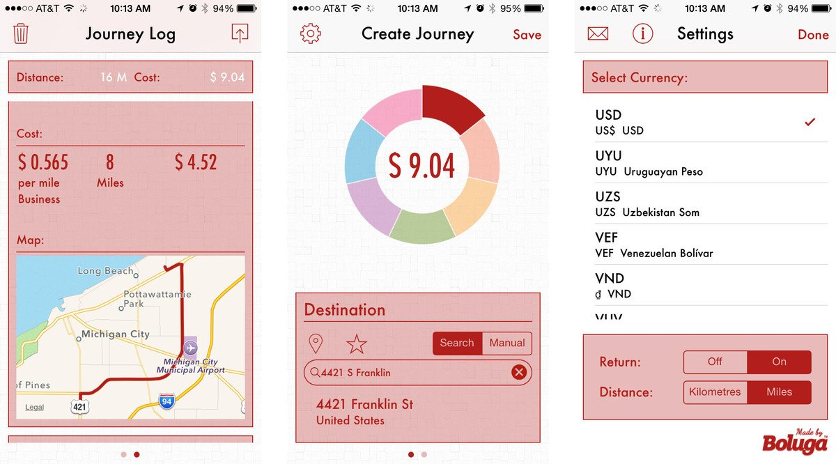 Best mileage tracking apps for iPhone: klicks