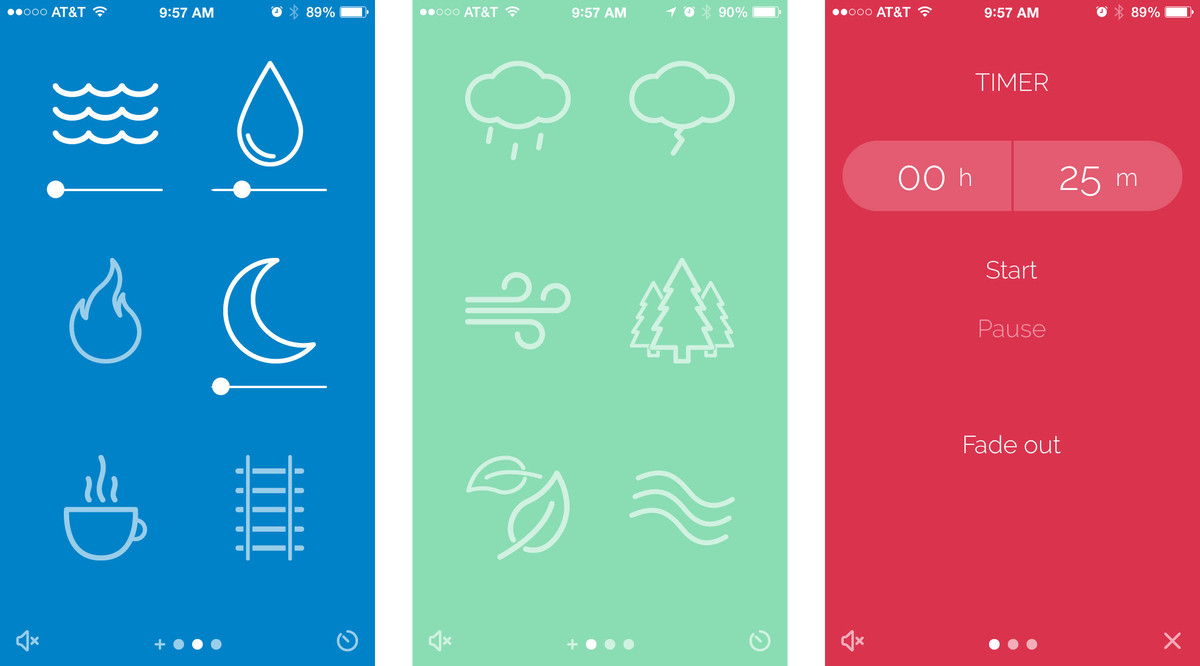 Best sleep apps for iPhone: Noisli
