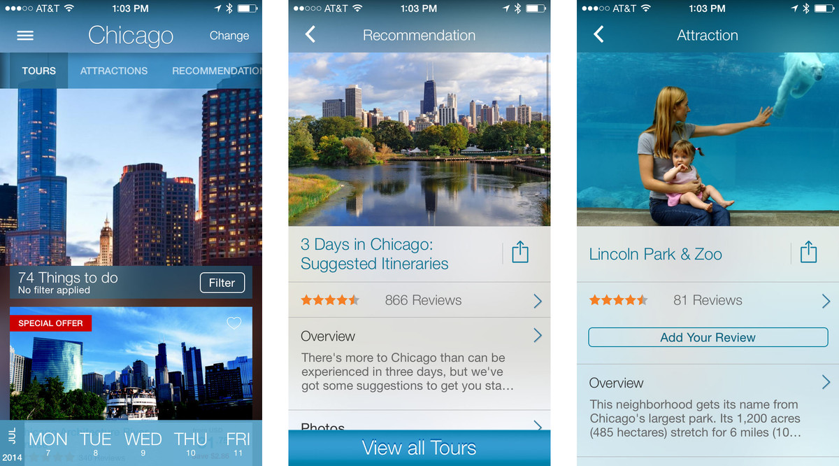 Best travel guide apps for iPhone: Viator
