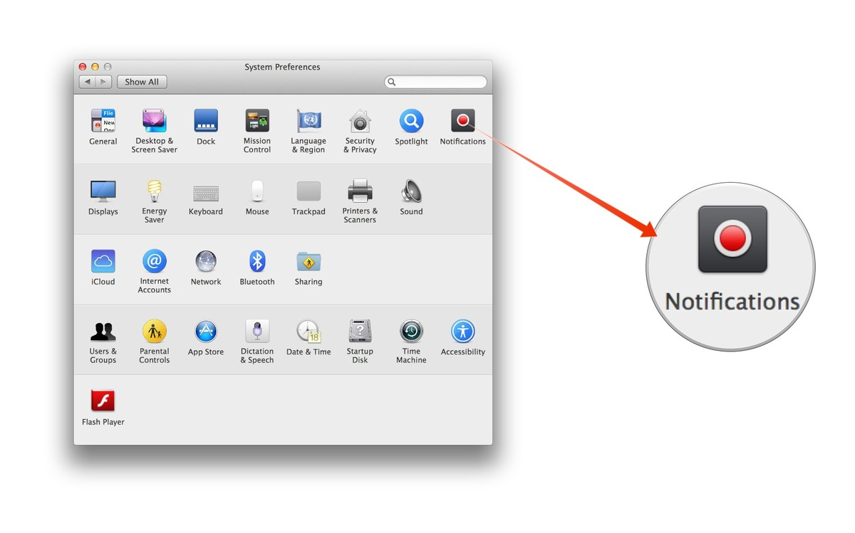 how to turn notifications off on macbook