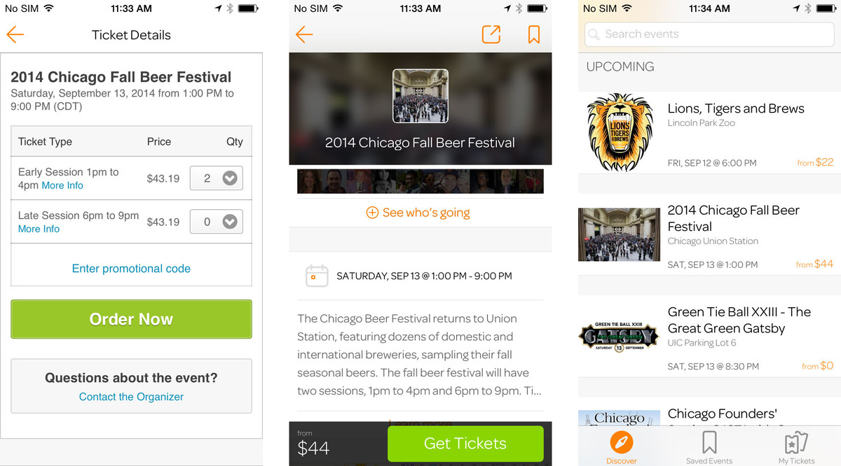 Best event and party planning apps for iPhone: Eventbrite
