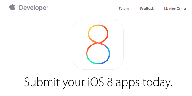 Apple asks developers to start sending in iOS 8 apps for App Store approval