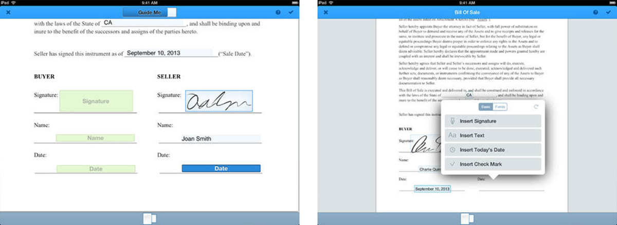 Best document signing apps for iPad: SignNow