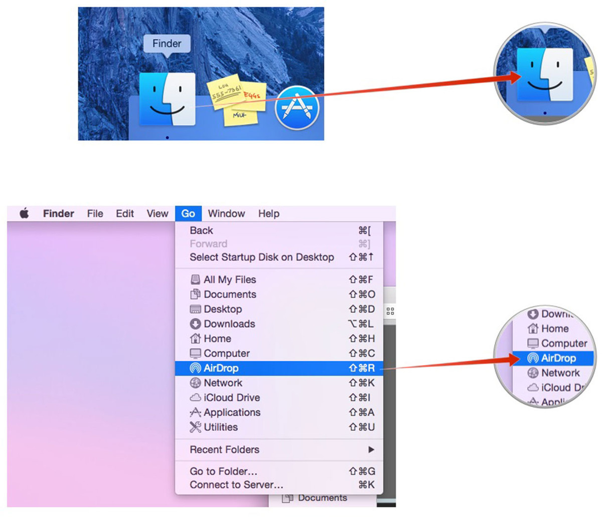 How To Use Airdrop In Share Sheets