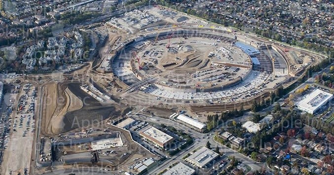Cupertino and Apple provide Campus 2 construction update, new aerial photo in tow