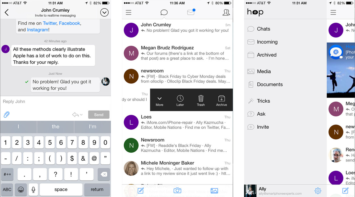 Best email apps for iPhone: Hop