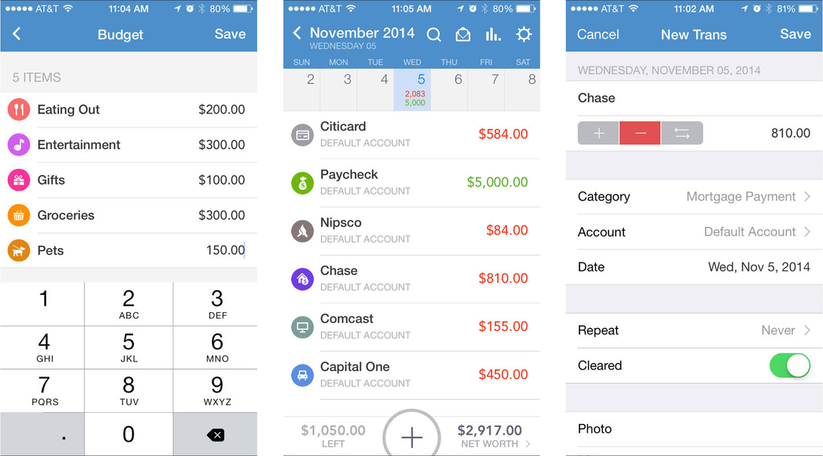 Best budget apps for iPhone: An easier way to spend less and save ...