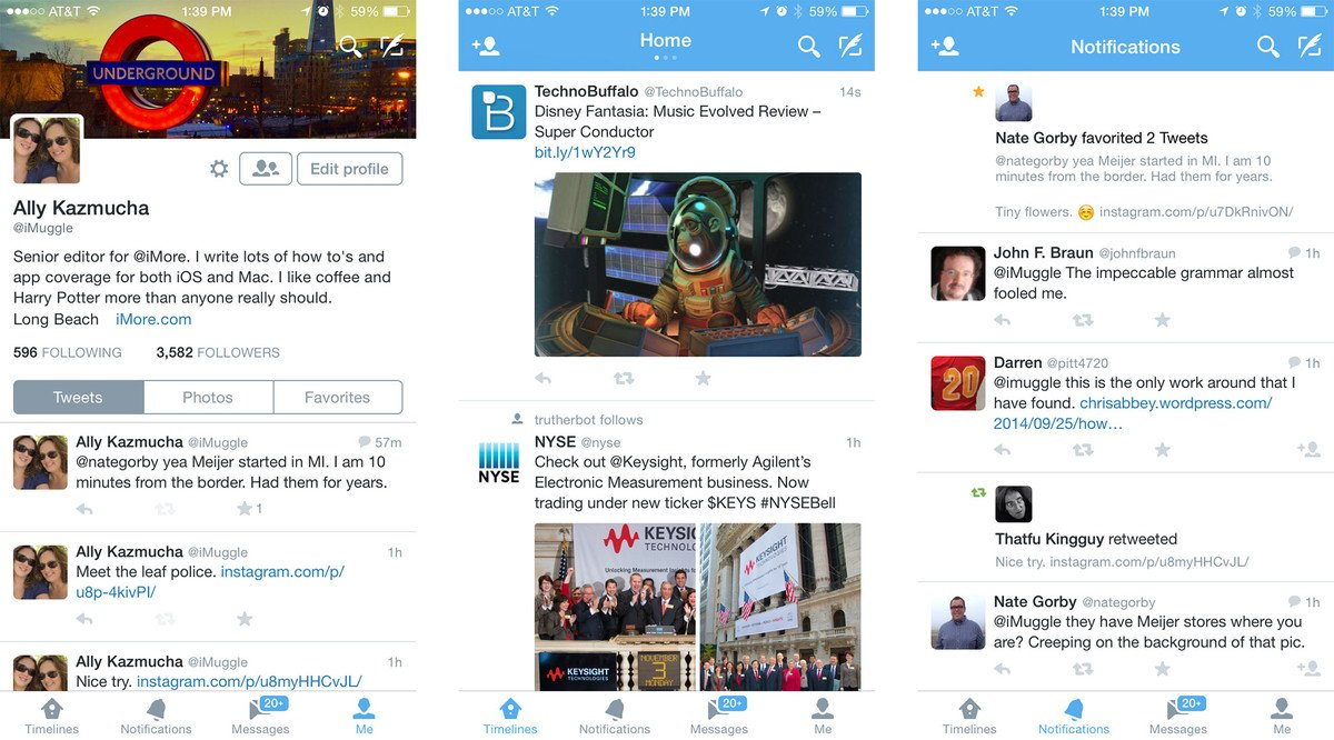 best iphone twitter app best apps for iphone imore 13633