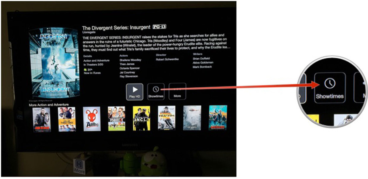 How to view movie showtimes on your Apple TV