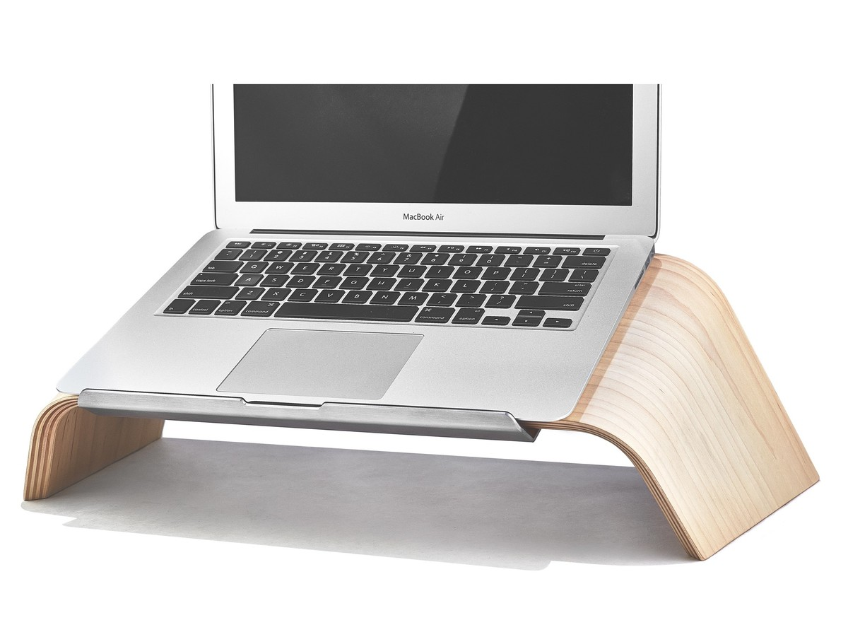 Grovemade Introduces A Wooden Laptop Stand To Bring Order