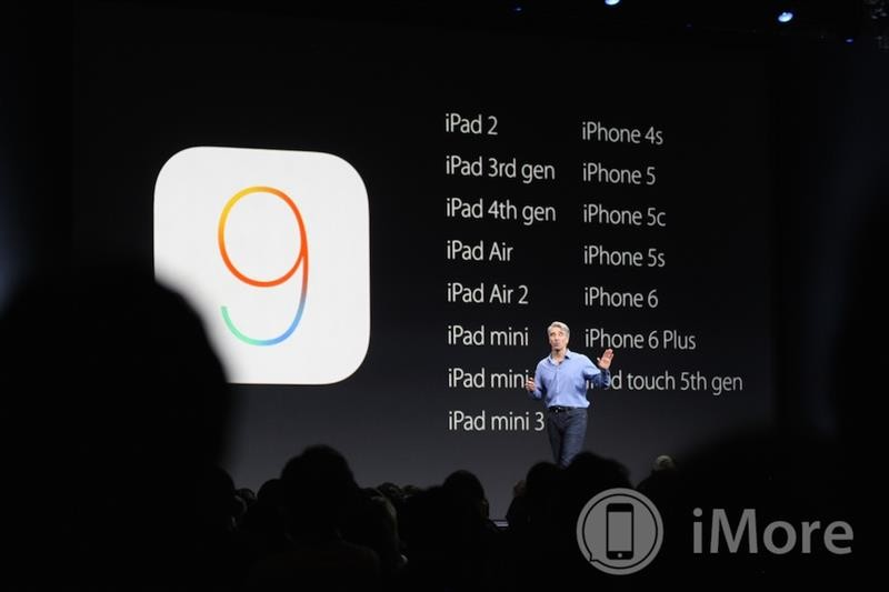 Here are all the iPhones, iPads, and iPods compatible with iOS 9