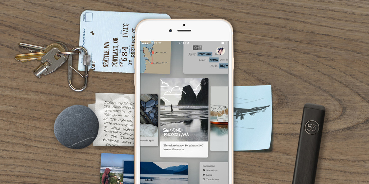 Paper for iPhone 'coming soon' from FiftyThree