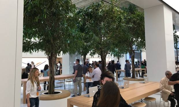 Apple previews new store in Dubai ahead of public opening