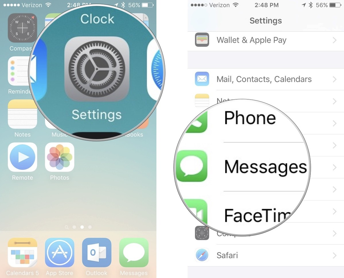 how to send screenshot on imessage from the laptop