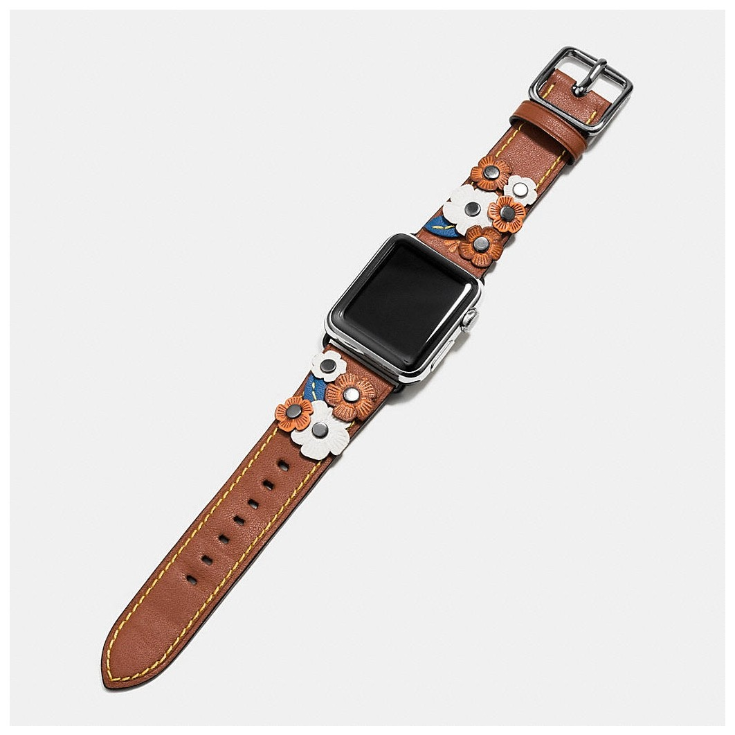 Coach launches line of Apple Watch bands