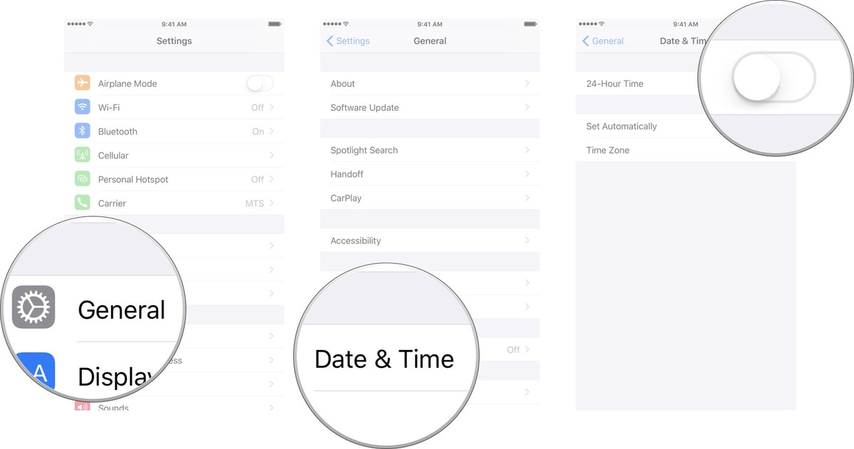 How to adjust the date, time, and timezone of your iPhone