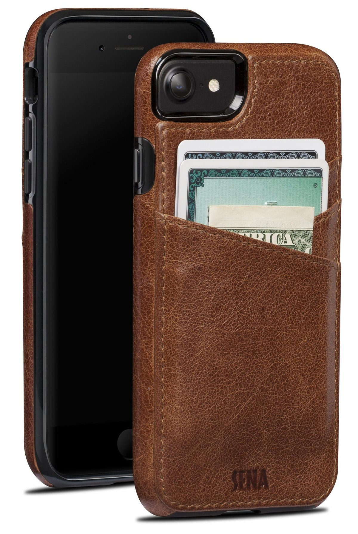 Sena Lugano leather wallet case