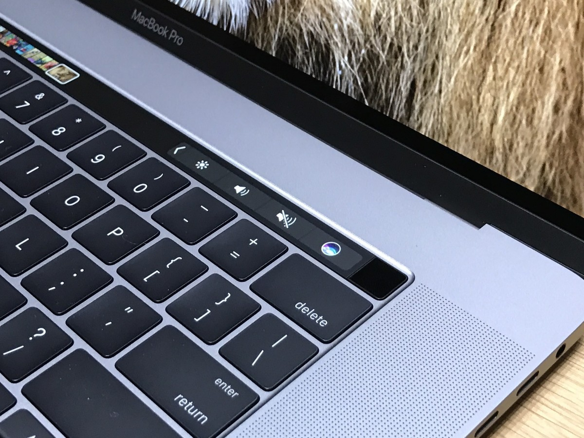 Touch Bar Tools and Touch ID