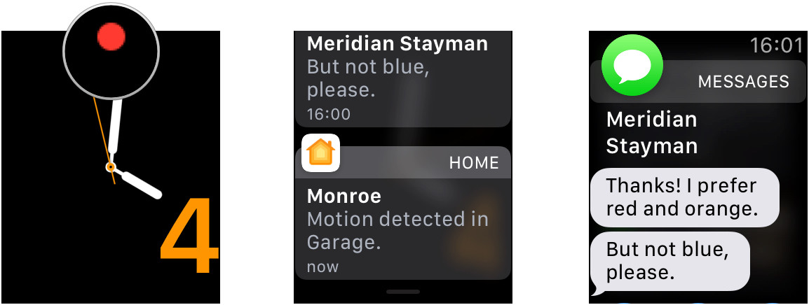 How to access Notification Center on Apple Watch