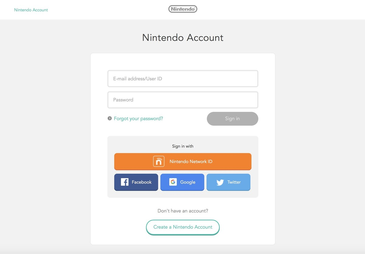 log in to your nintendo account. Resume Example. Resume CV Cover Letter