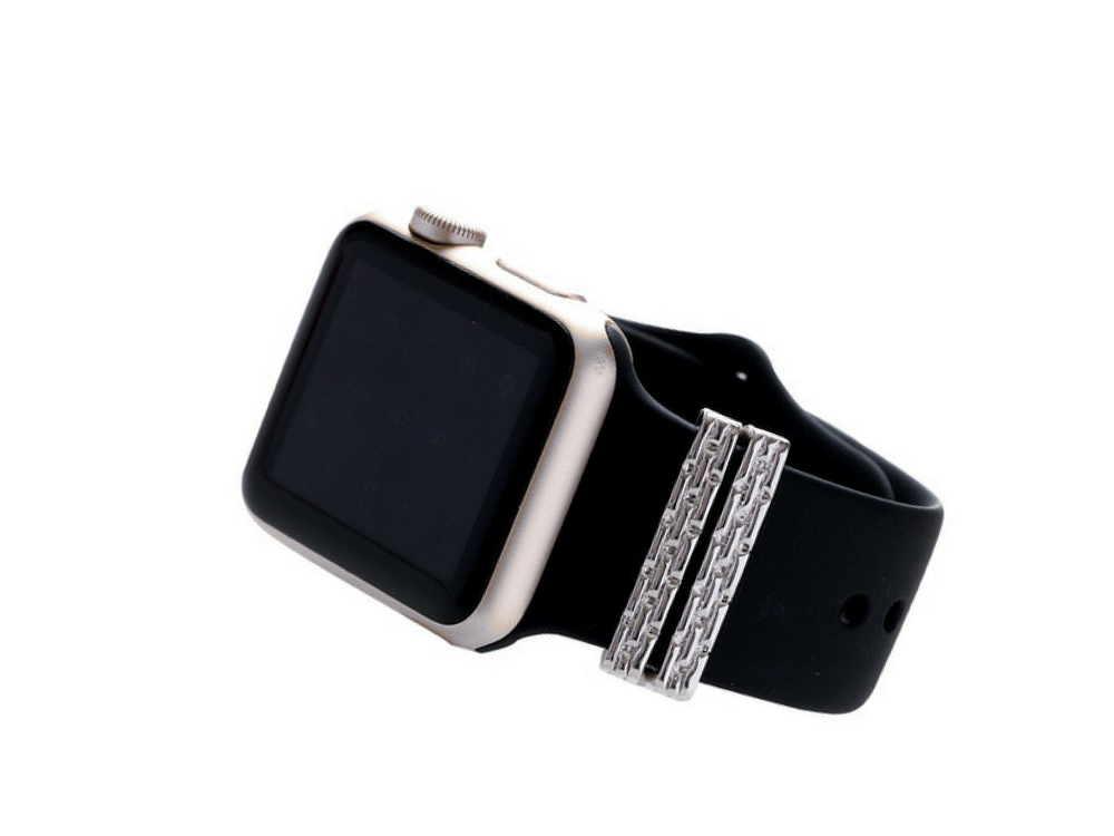 Beautiful Bling That Can Add Wow To Your Apple Watch Band ...