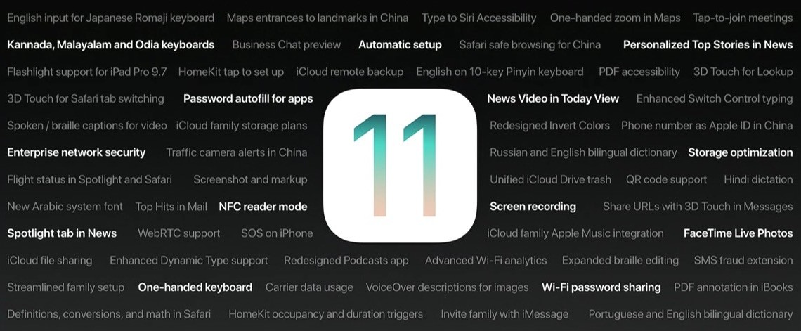 Extra iOS 11 features Apple didn't discuss in the keynote