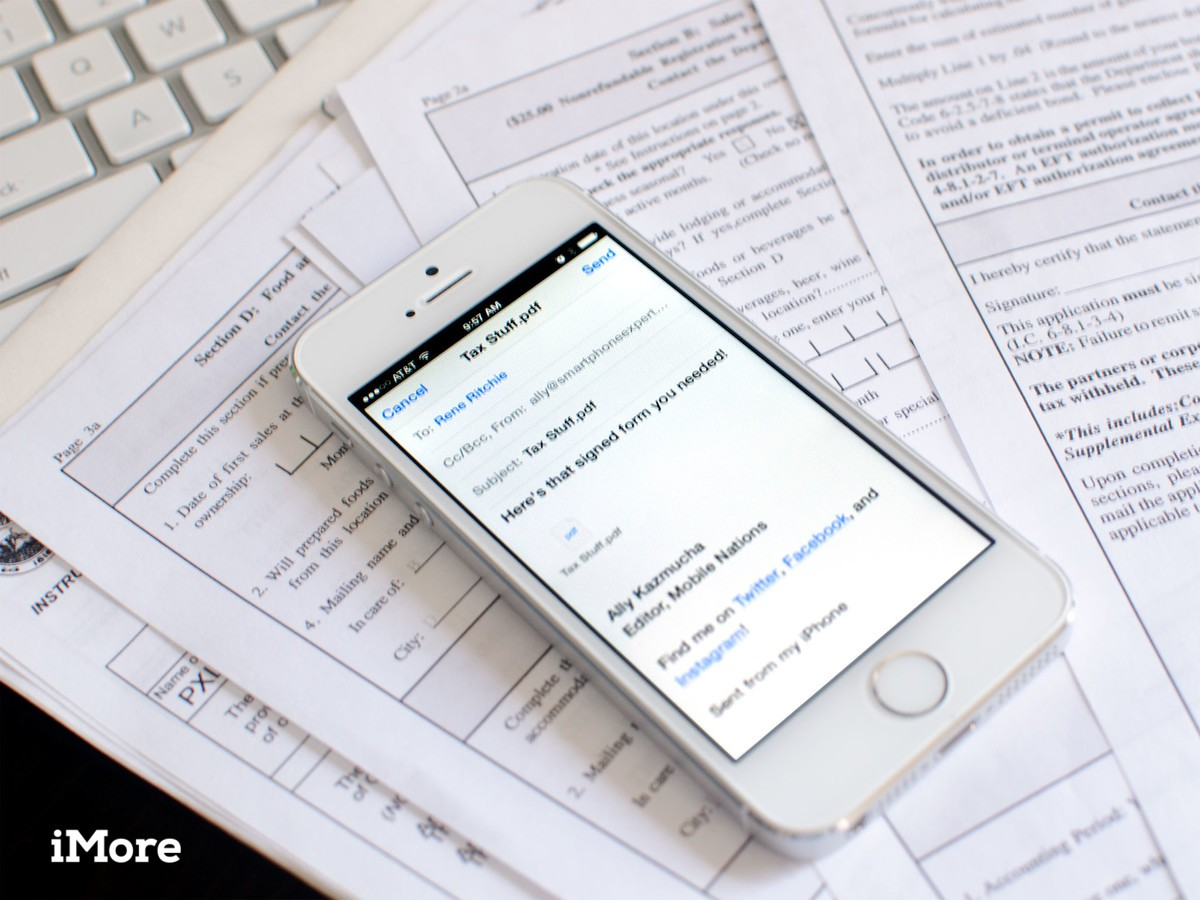 How To Scan, Sign, And Send A Pdf From Your Iphone Or Ipad,
