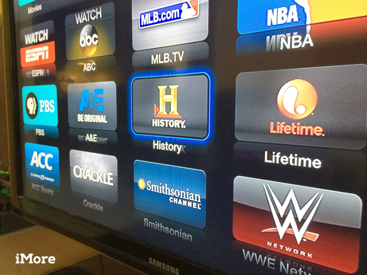 Apple TV adds A&E, History Channel, Lifetime