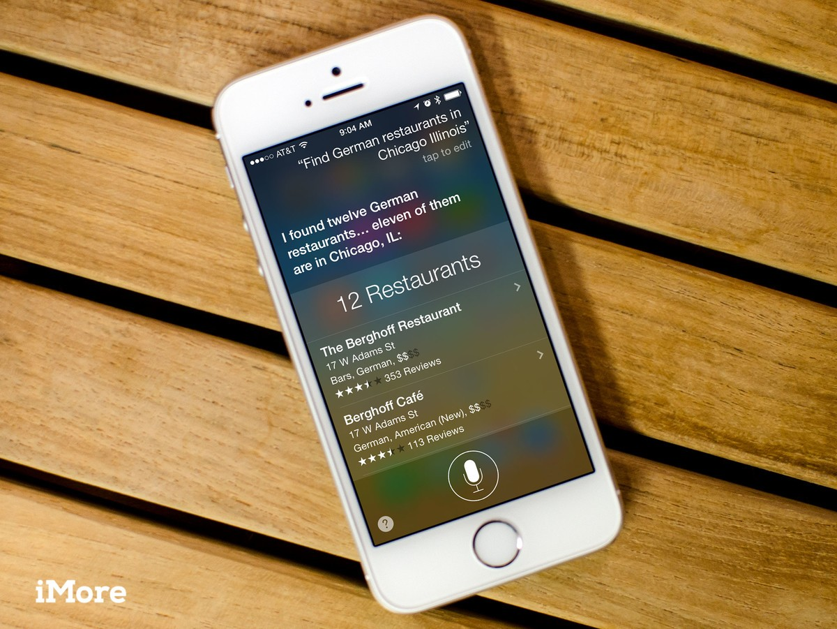How to search for different types of restaurants with Siri