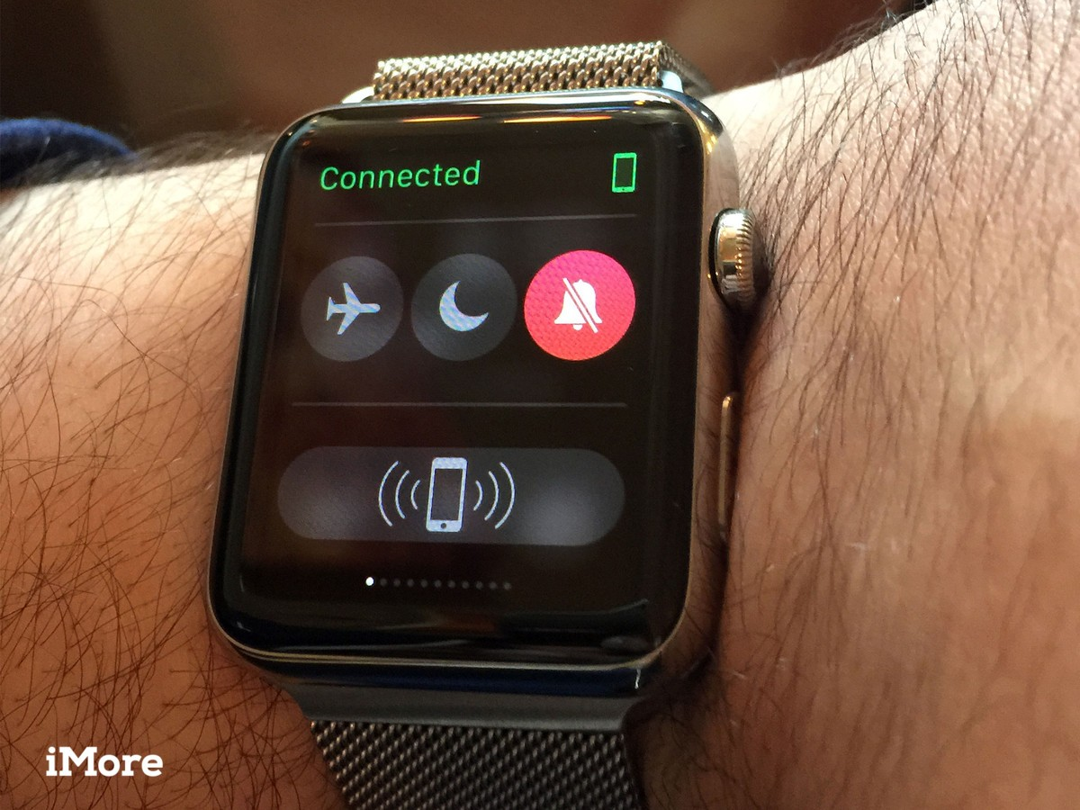 How to mute the ringer and alerts on your Apple Watch