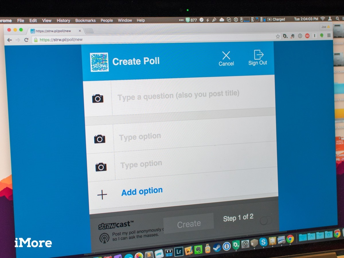 Straw Web Polling lets you create a poll from any browser