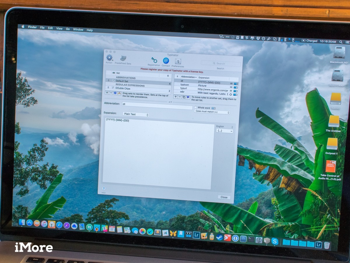 Typinator for Mac makes its easier to switch from TextExpander
