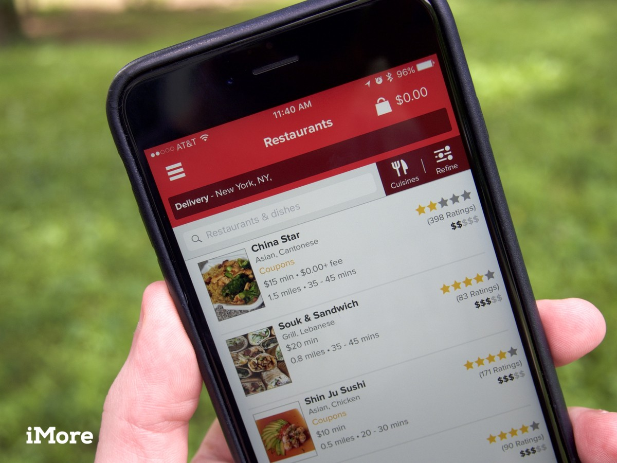 Grubhub and Seamless now support quicker checkouts with Apple Pay