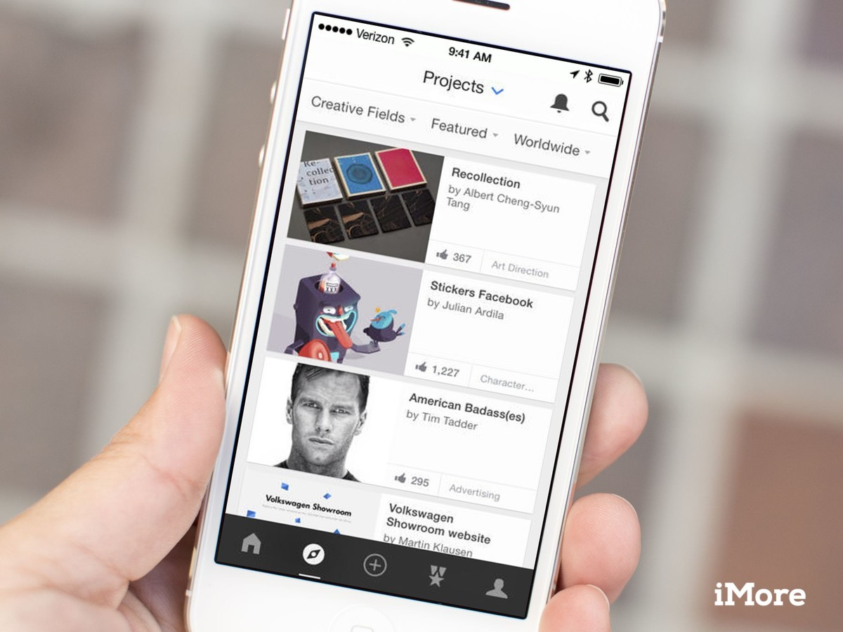Adobe Behance for iOS goes universal, gets new design for version 3.0
