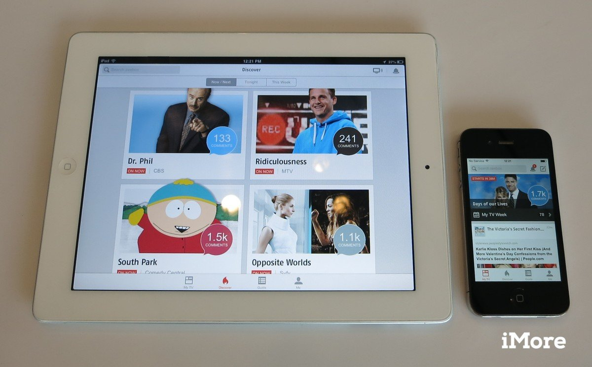 Apps World: New features coming to Zeebox TV app iPad iPhone iOS