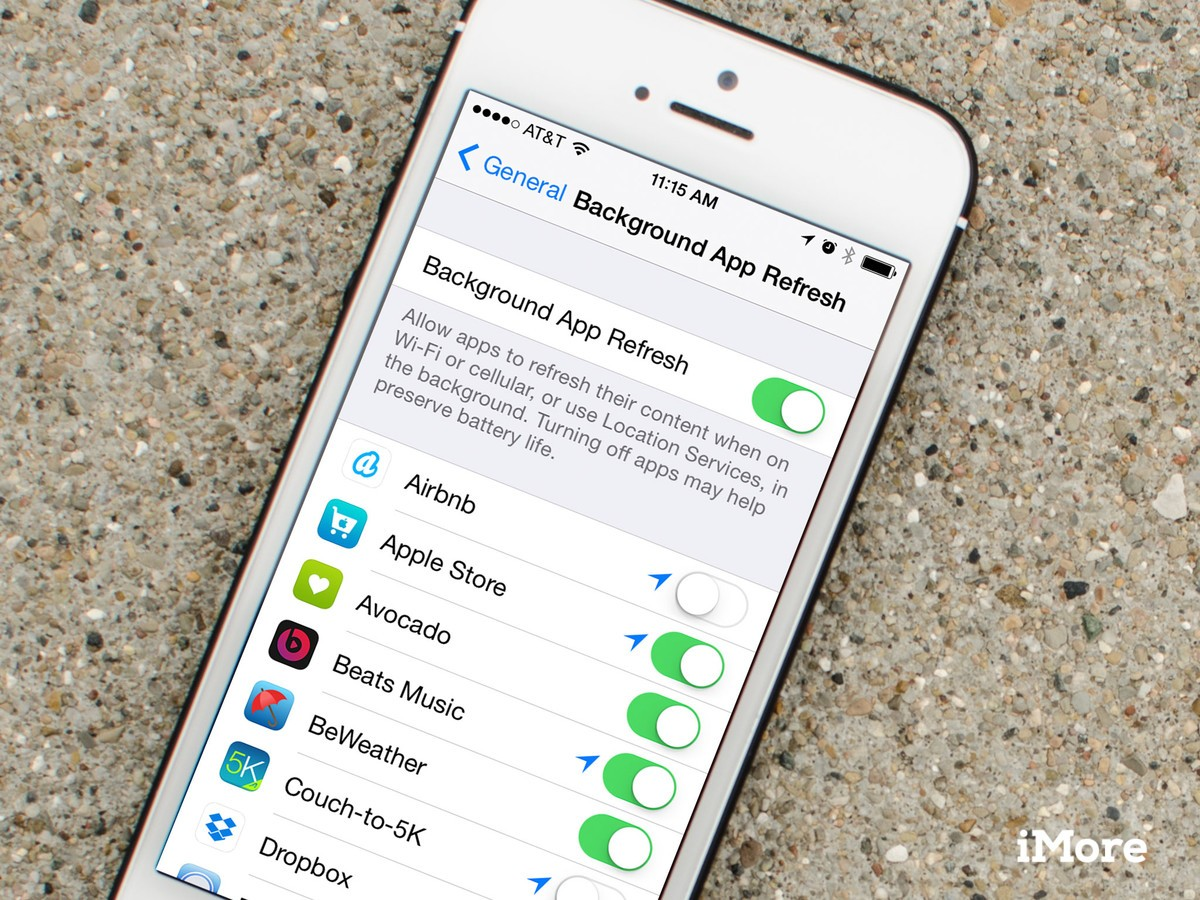 How to control background refresh on your iPhone and iPad