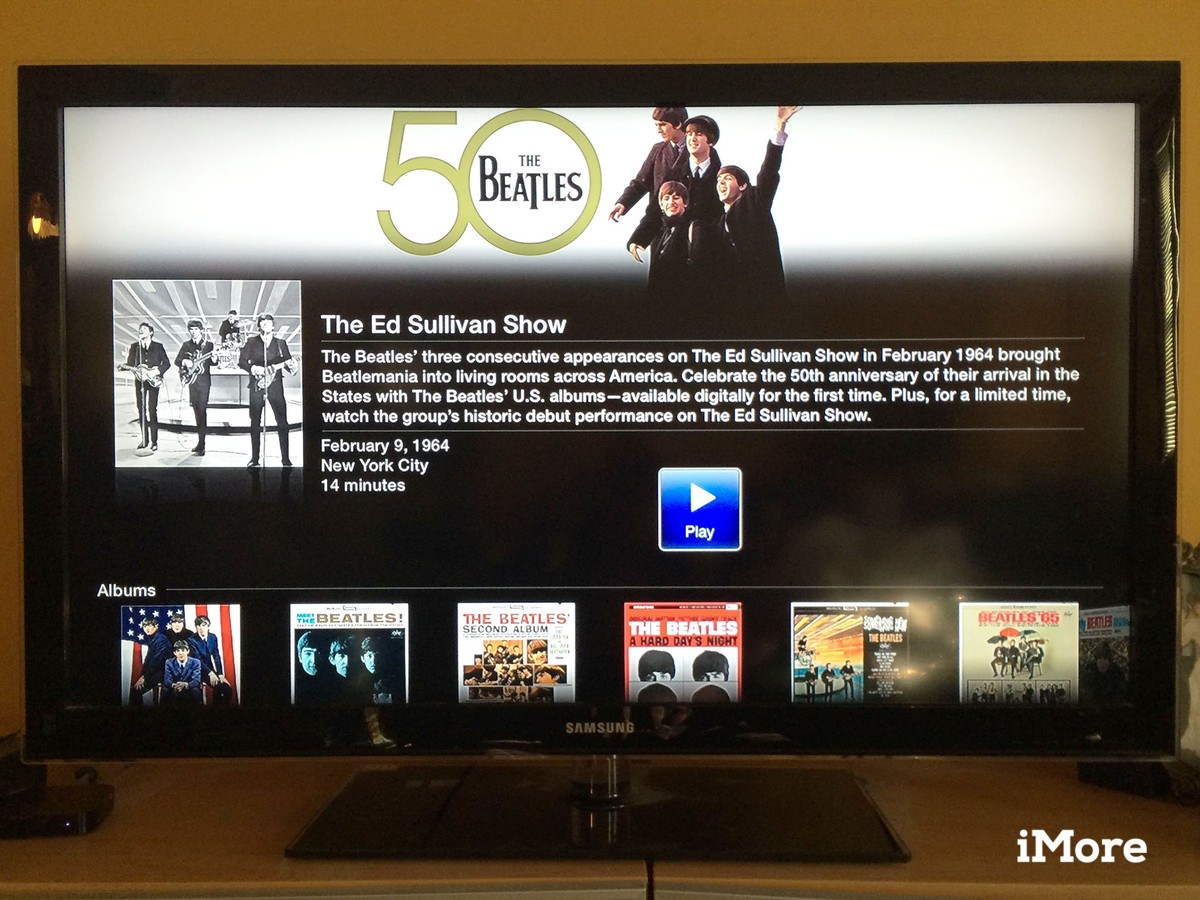 Meet the Beatles again, for the first time on Apple TV